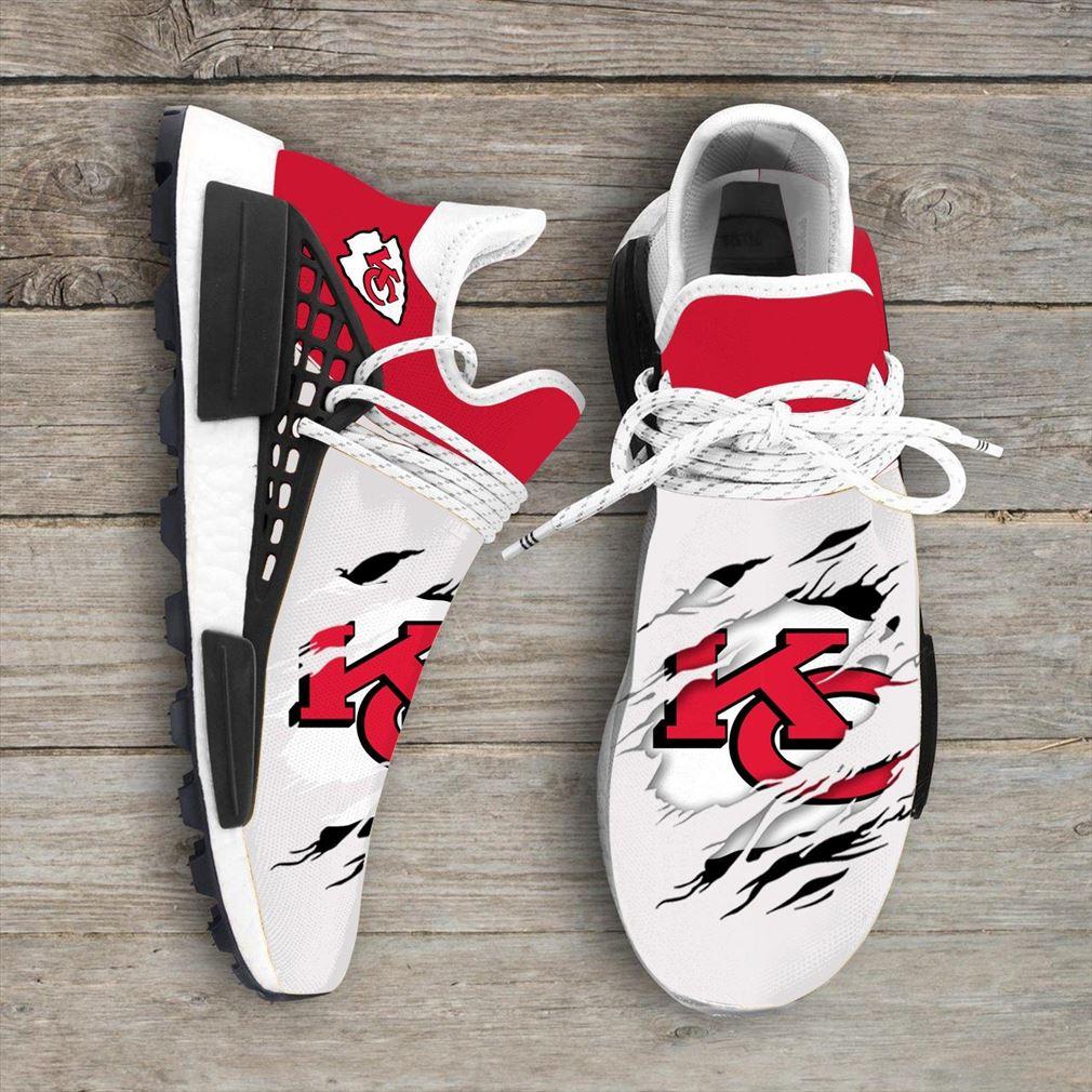 Kansas City Chiefs Nfl Nmd Human Race Shoes Sport Shoes