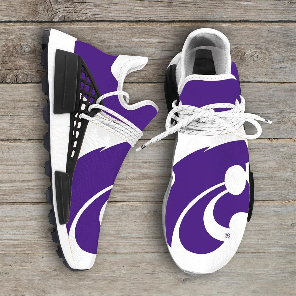 Kansas State Wildcats Ncaa Nmd Human Race Sneakers Sport Shoes Running Shoes
