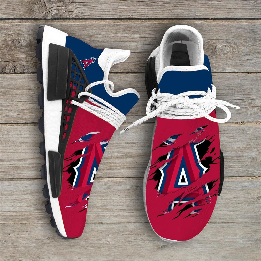 Los Angeles Angels Mlb Sport Teams Nmd Human Race Sneakers Sport Shoes Running Shoes