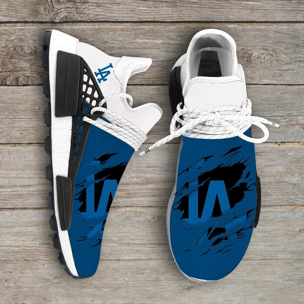 Los Angeles Dodgers Mlb Nmd Human Race Shoes Sport Shoes