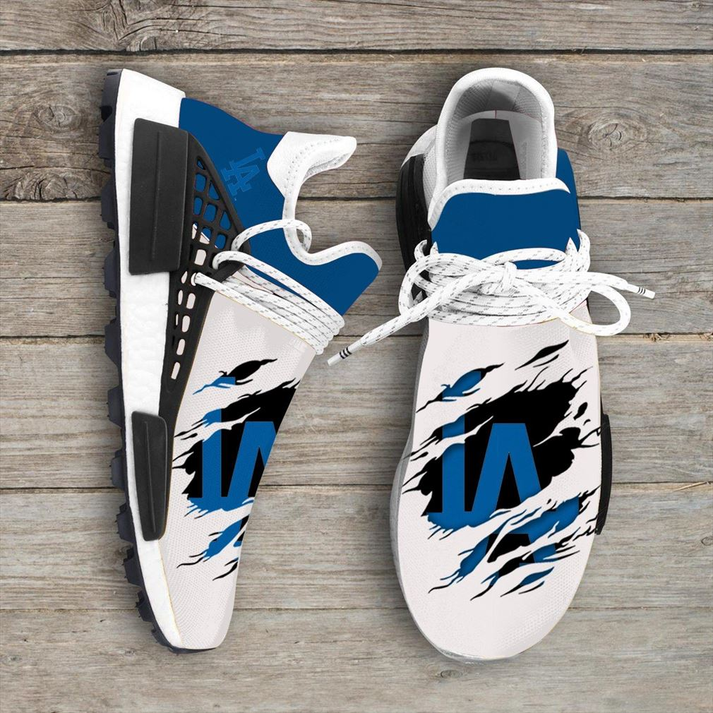 Los Angeles Dodgers Mlb Sport Teams Nmd Human Race Sneakers Shoes Sport Shoes
