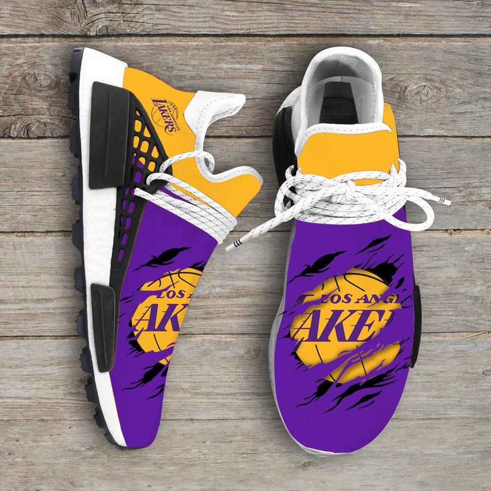 Los Angeles Lakers Nba Nmd Human Race Shoes Sport Shoes Xe9gu