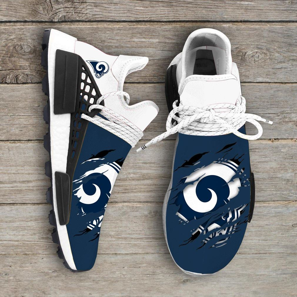 Los Angeles Rams Nfl Sport Teams Nmd Human Race Sneakers Sport Shoes Running Shoes