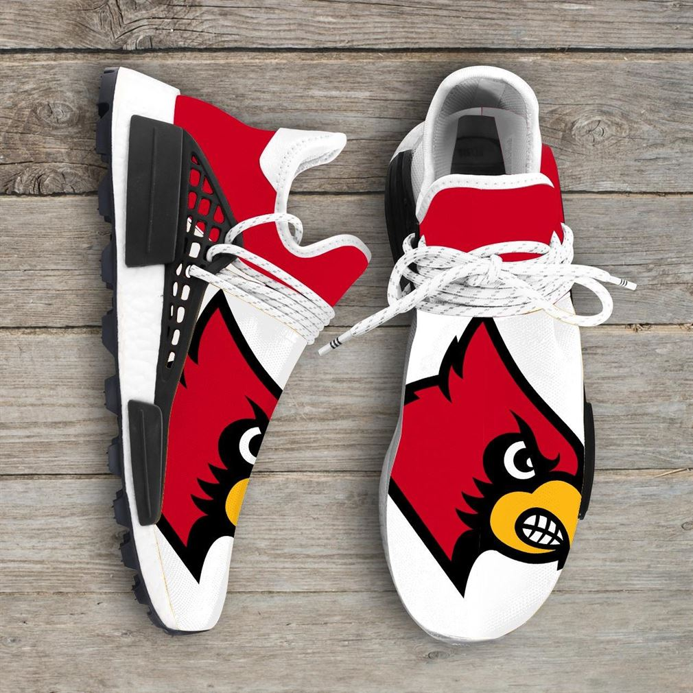 Louisville Cardinals Ncaa Nmd Human Race Sneakers Sport Shoes Running Shoes