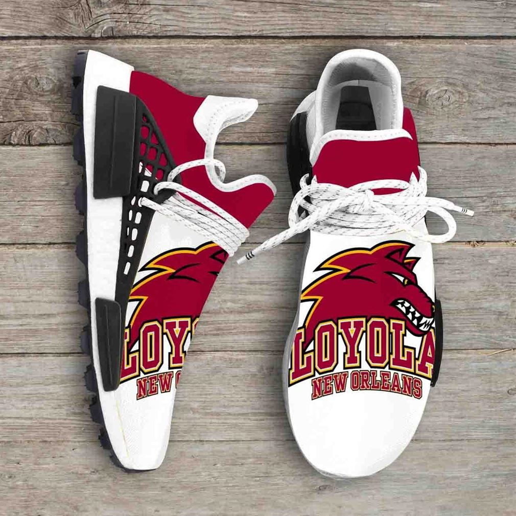 Loyola New Orleans Wolfpack Ncaa Nmd Human Race Sneakers Sport Shoes Running Shoes