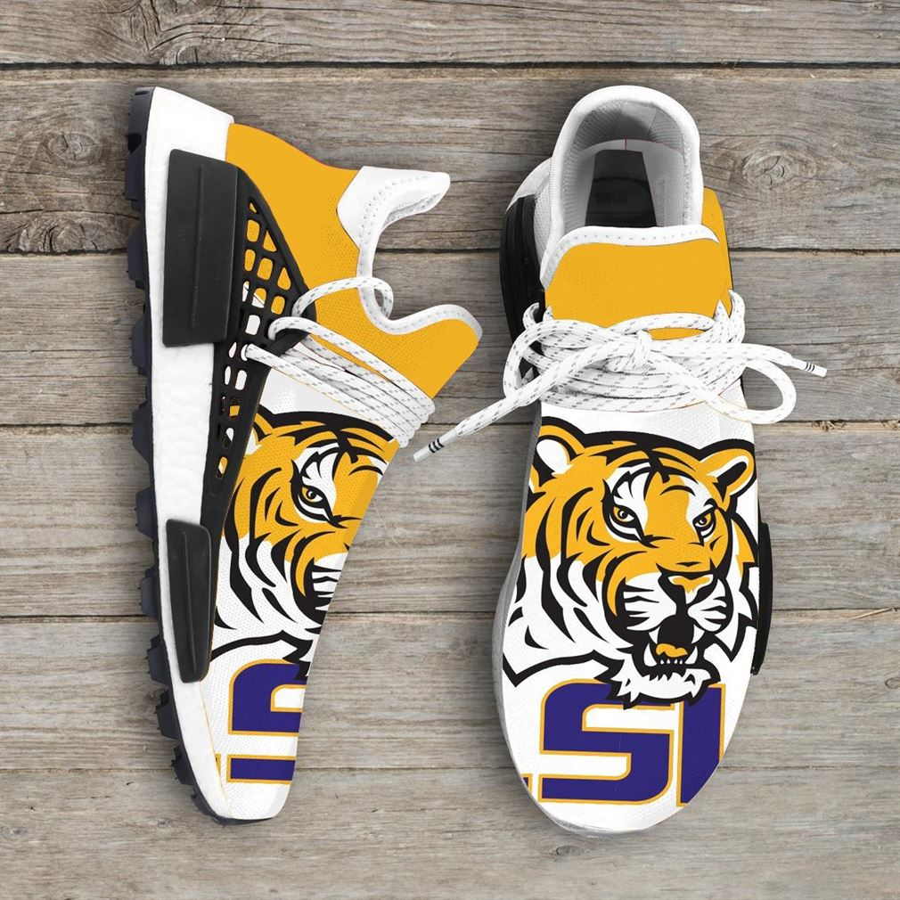 Lsu Tigers Ncaa Nmd Human Race Sneakers Sport Shoes Running Shoes