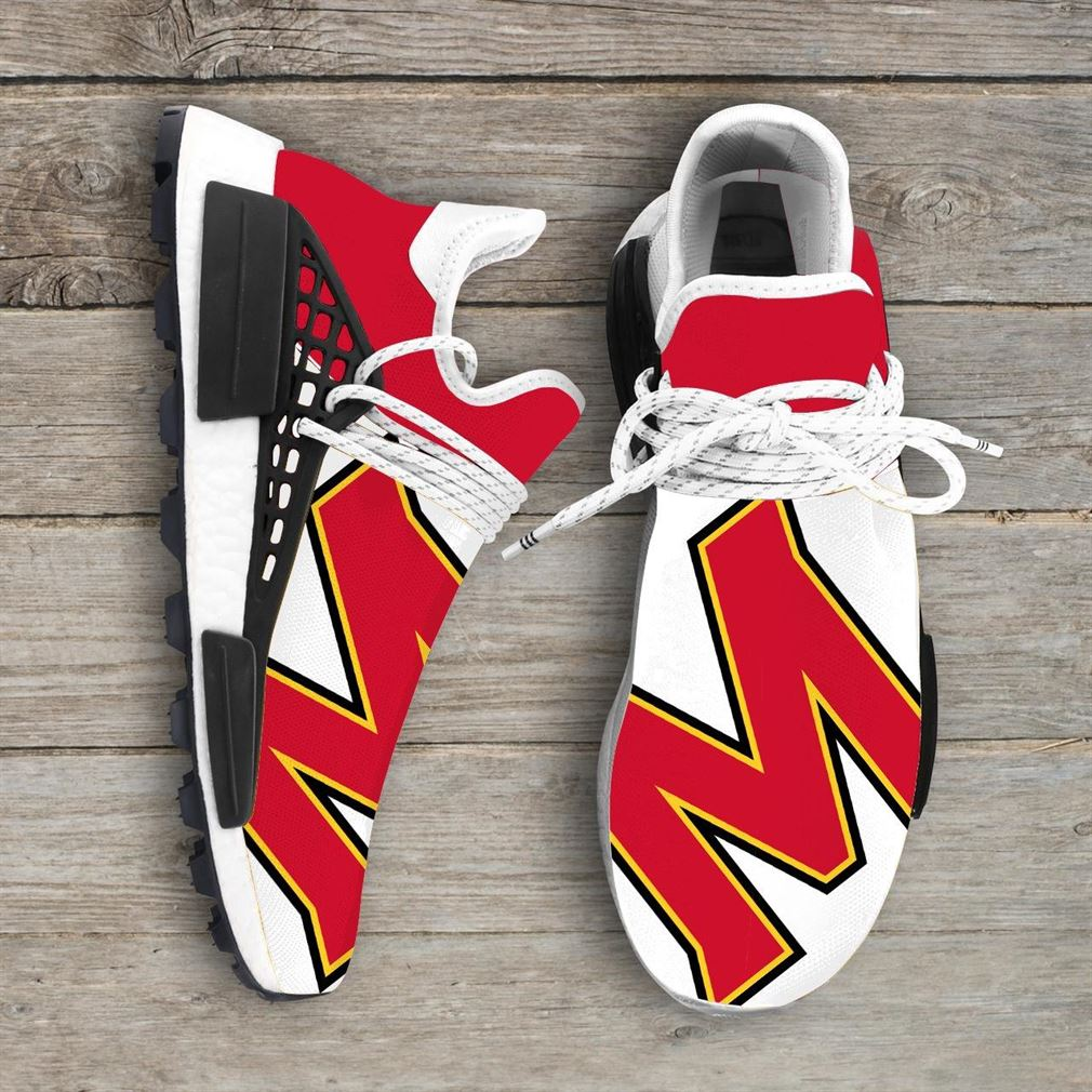 Maryland Terrapins Ncaa Nmd Human Race Sneakers Sport Shoes Running Shoes