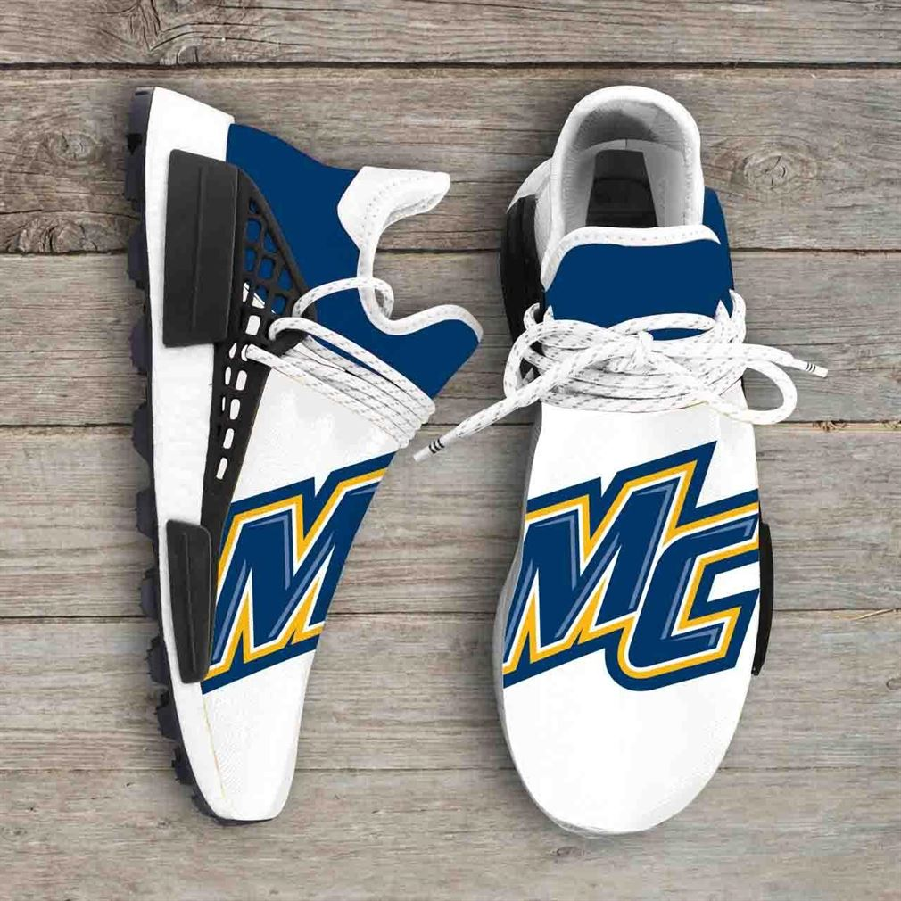 Merrimack College Warriors Ncaa Nmd Human Race Sneakers Sport Shoes Running Shoes