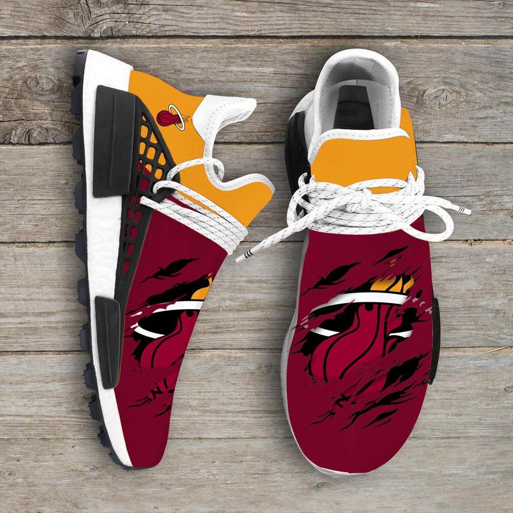 Miami Heat Nba Nmd Human Race Shoes Sport Shoes Vip