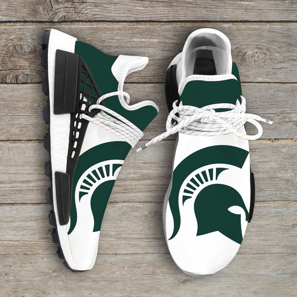Michigan State Spartans Ncaa Nmd Human Race Sneakers Sport Shoes Running Shoes