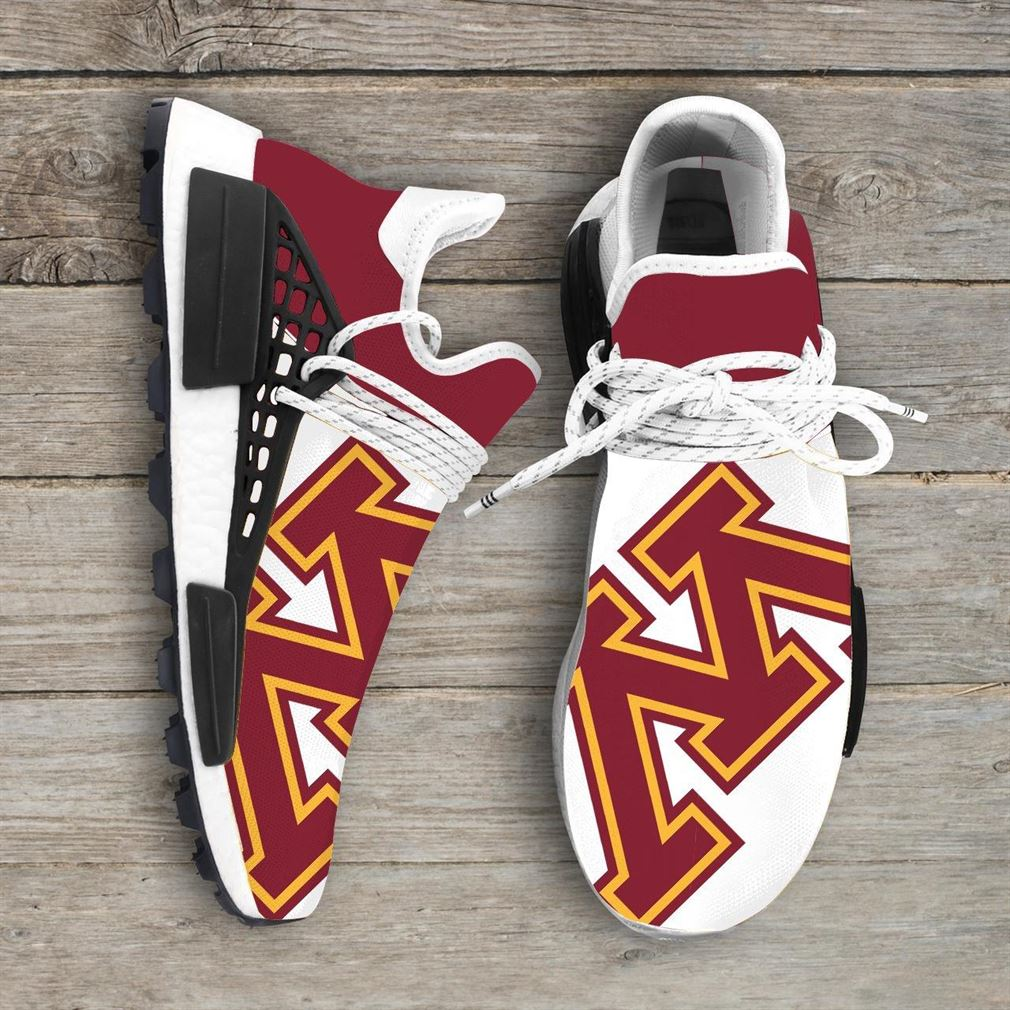 Minnesota Golden Gophers Ncaa Nmd Human Race Sneakers Sport Shoes Running Shoes