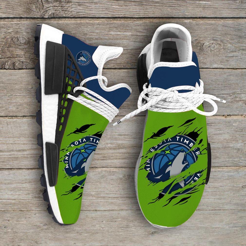 Minnesota Timberwolves Nba Nmd Human Race Shoes Sport Shoes Vip