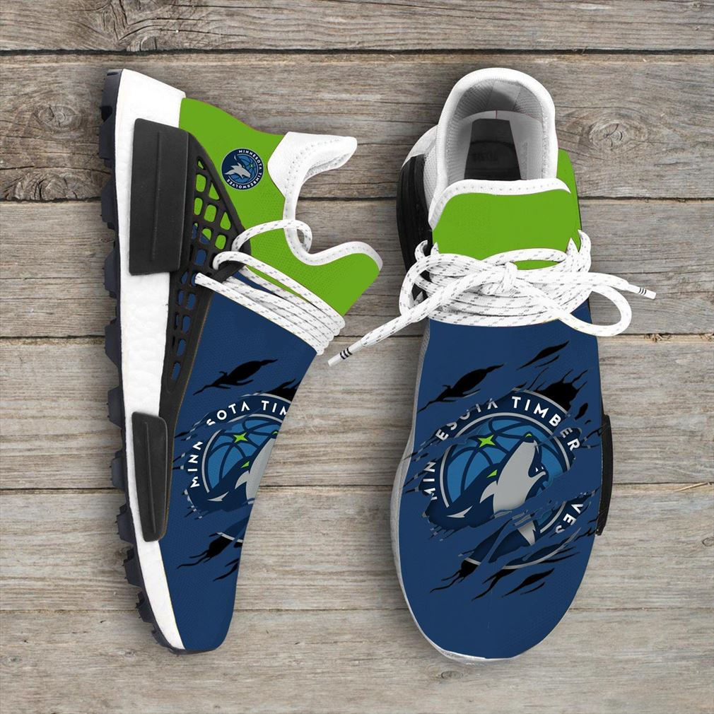 Minnesota Timberwolves Nba Nmd Human Race Shoes Sport Shoes