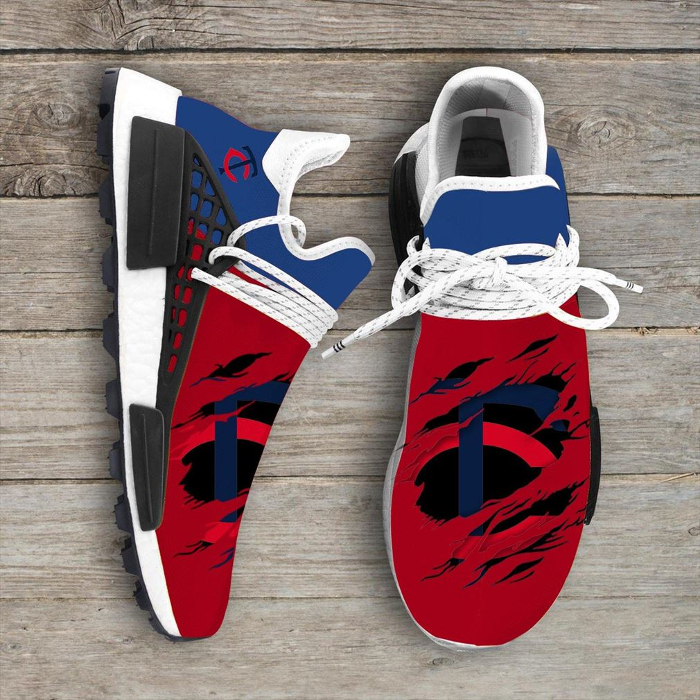 Minnesota Twins Mlb Sport Teams Nmd Human Race Sneakers Sport Shoes Running Shoes