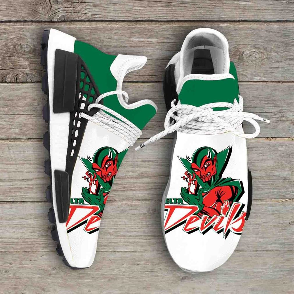 Mississippi Valley State Delta Devils Ncaa Nmd Human Race Sneakers Sport Shoes Running Shoes
