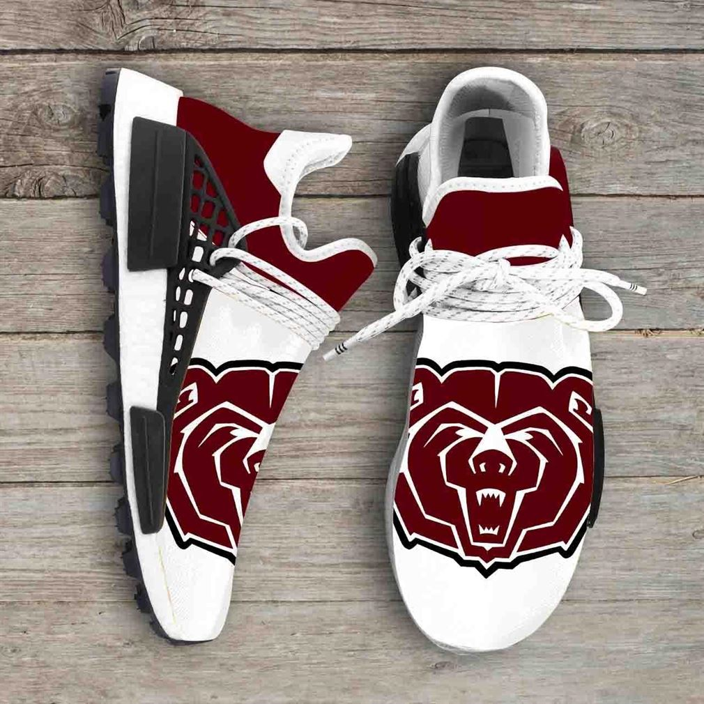 Missouri State University Bears Ncaa Nmd Human Race Sneakers Sport Shoes Running Shoes