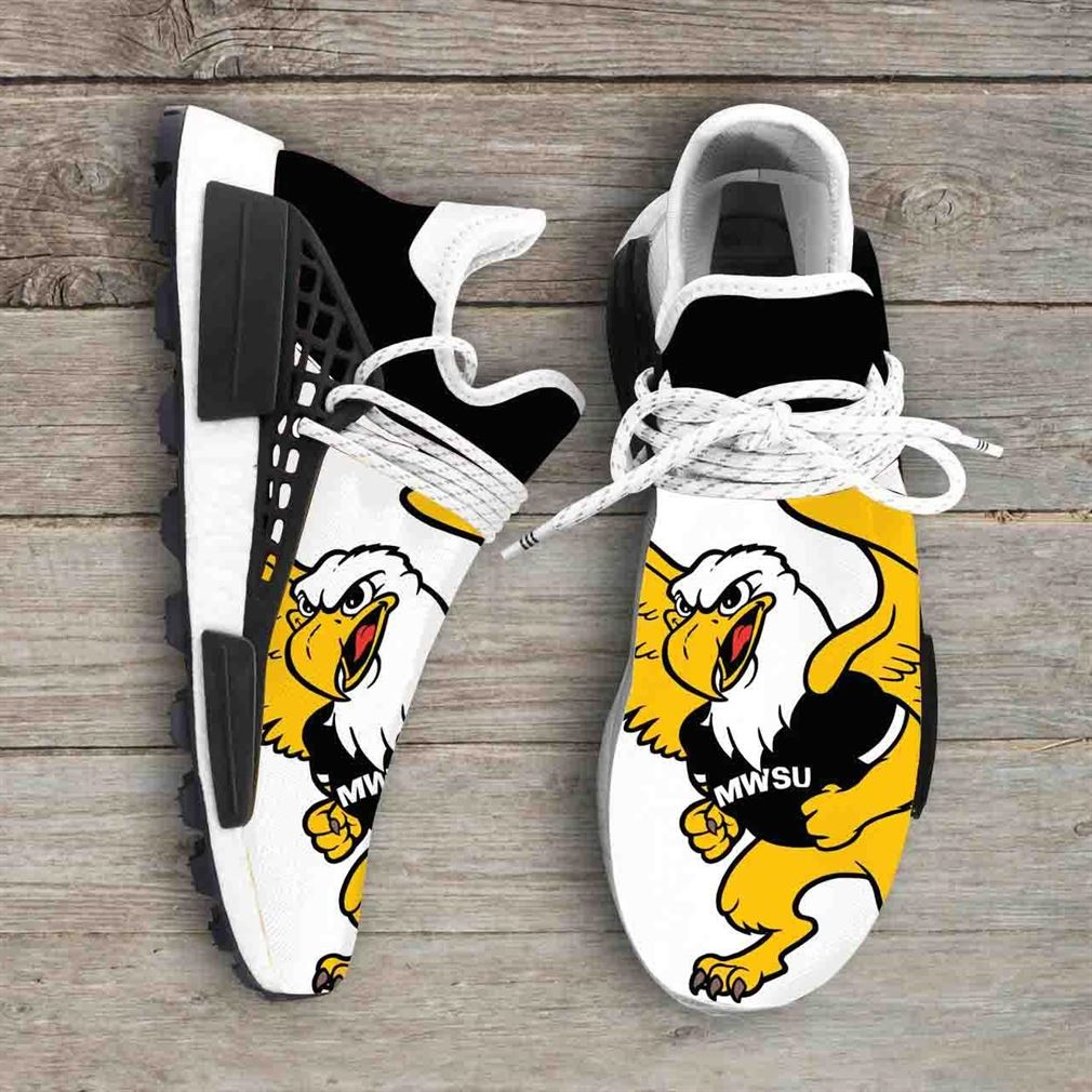 Missouri Western State Griffons Ncaa Nmd Human Race Sneakers Sport Shoes Running Shoes