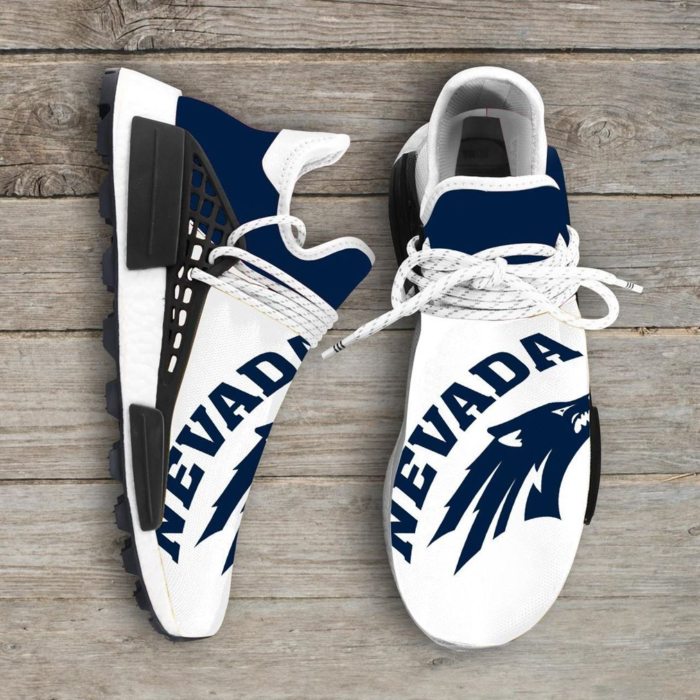 Nevada Wolf Pack Ncaa Nmd Human Race Sneakers Sport Shoes Running Shoes