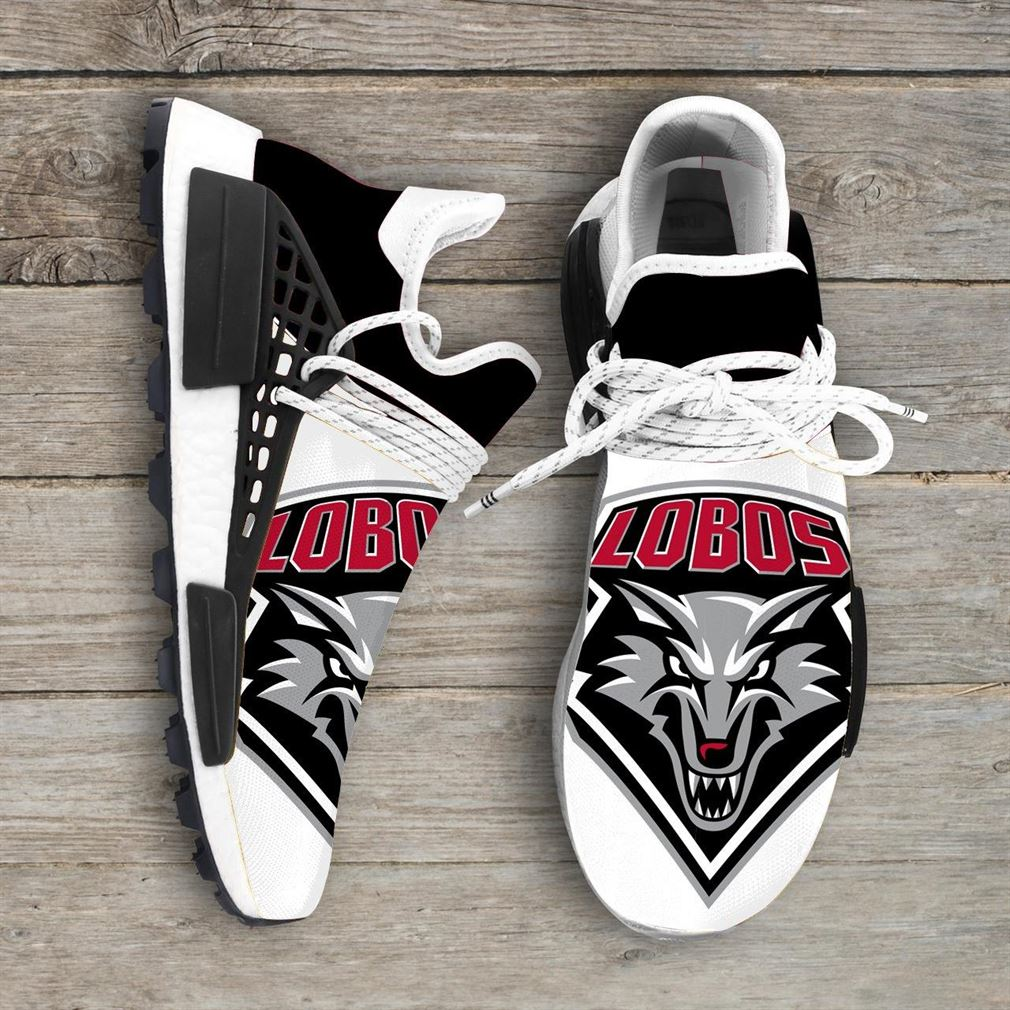 New Mexico Lobos Ncaa Nmd Human Race Sneakers Sport Shoes Running Shoes