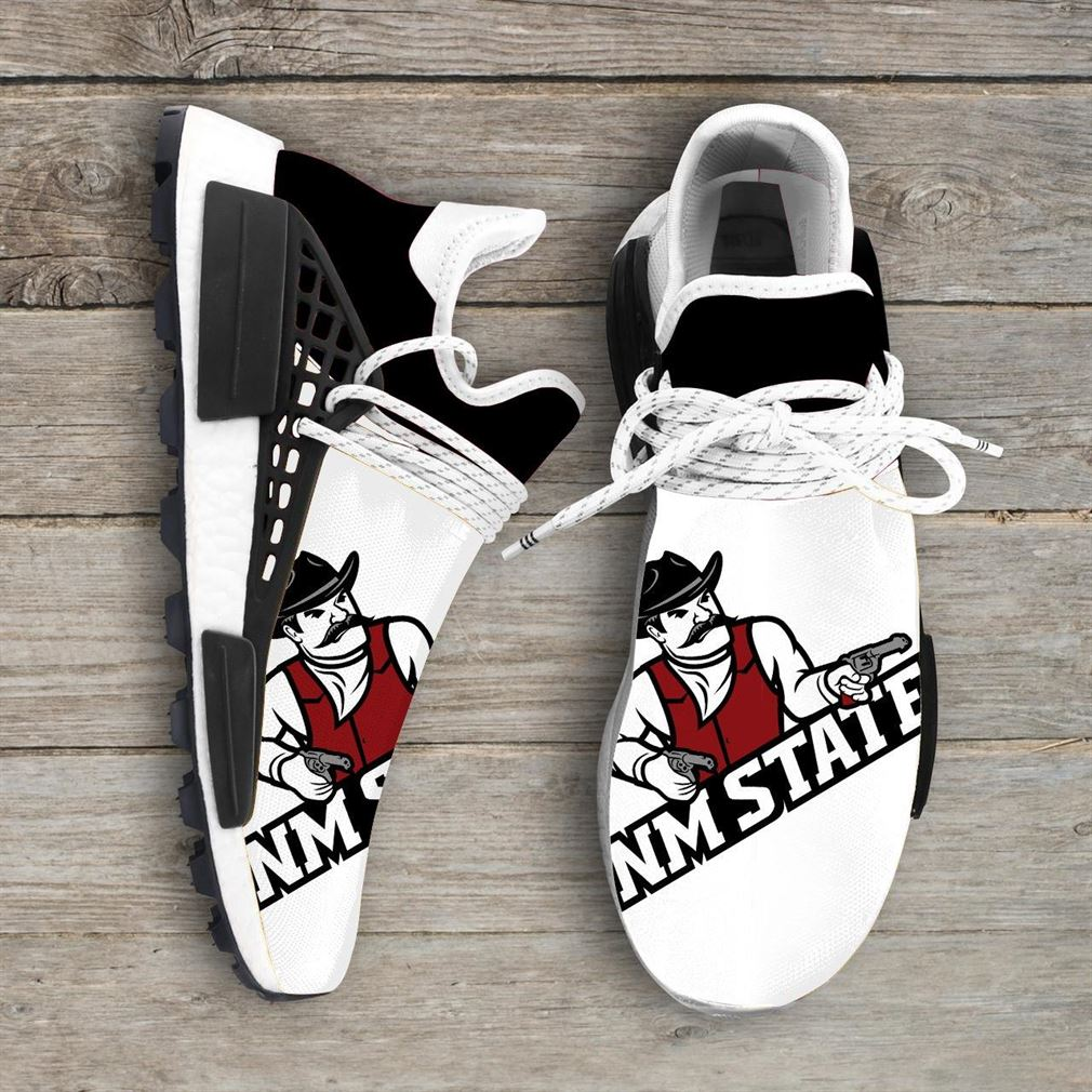 New Mexico State Aggies Ncaa Nmd Human Race Sneakers Sport Shoes Running Shoes