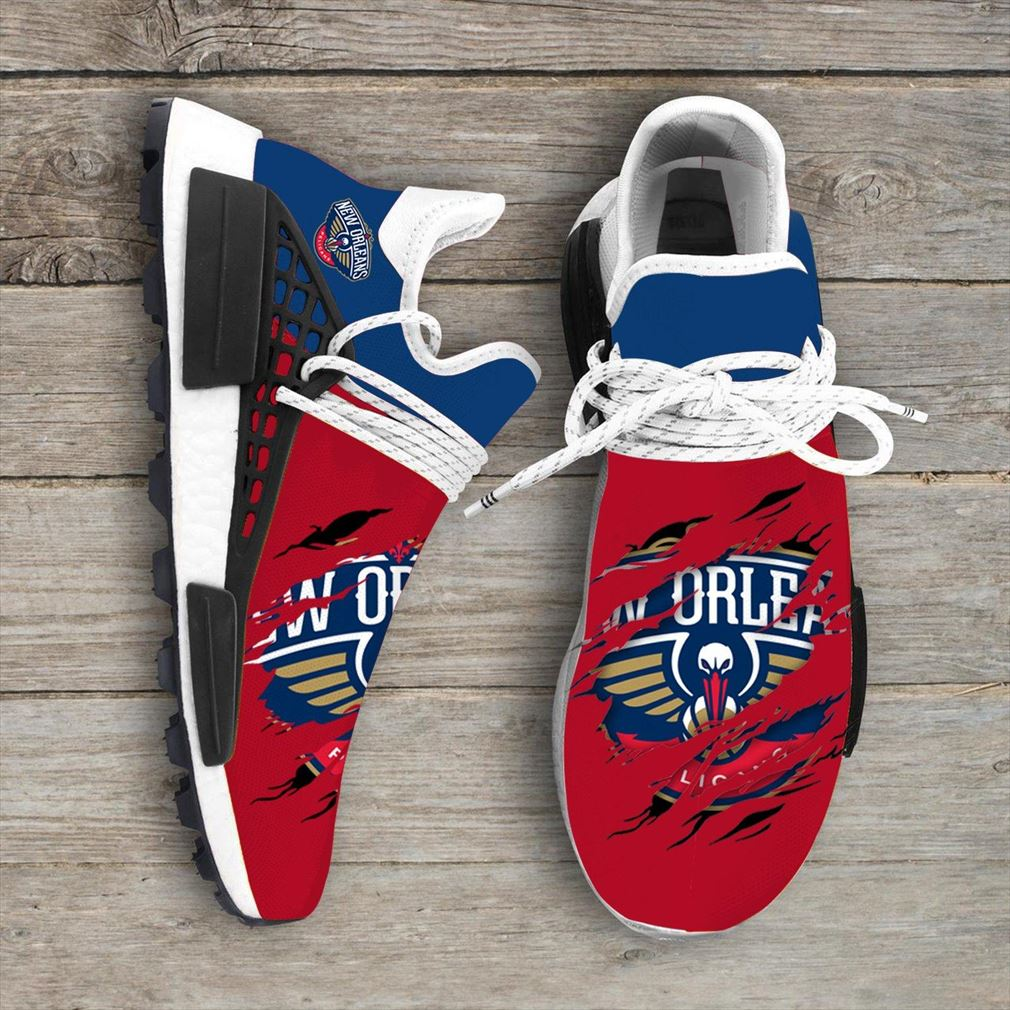New Orleans Pelicans Nba Nmd Human Race Shoes Sport Shoes Vip