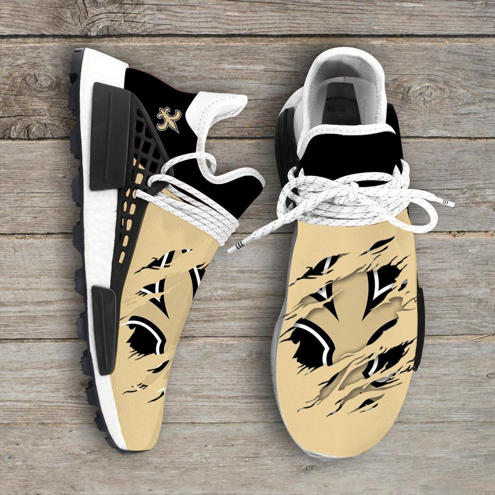 New Orleans Saints Nfl Sport Teams Nmd Human Race Sneakers Sport Shoes Running Shoes Vip