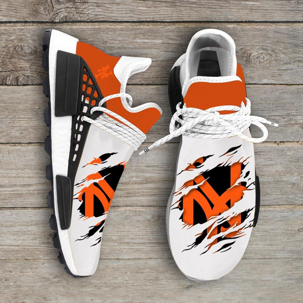 New York Mets Mlb Sport Teams Nmd Human Race Sneakers Sport Shoes Running Shoes