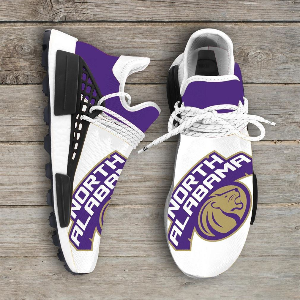 North Alabama Lions Ncaa Nmd Human Race Sneakers Sport Shoes Running Shoes