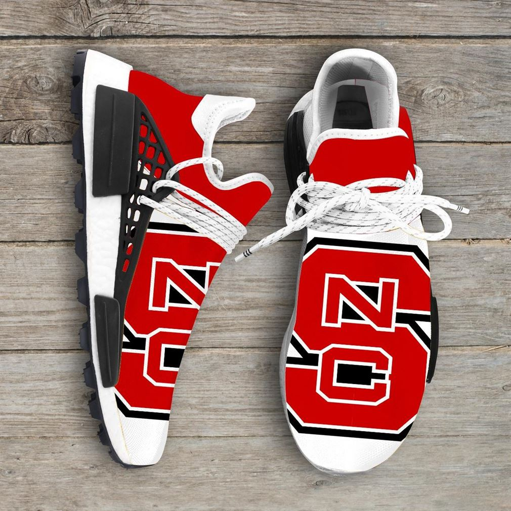 North Carolina State Wolfpack Ncaa Nmd Human Race Sneakers Sport Shoes Running Shoes