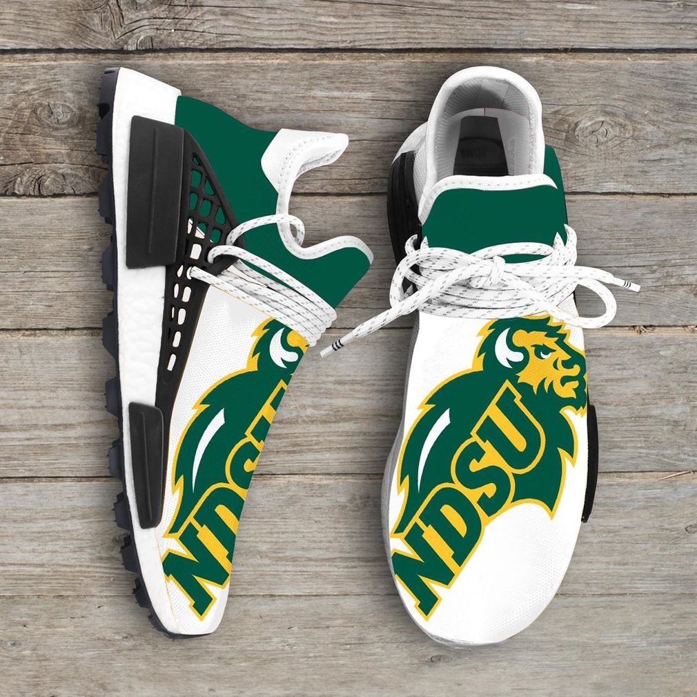 North Dakota State University Bison Ncaa Nmd Human Race Sneakers Sport Shoes Running Shoes