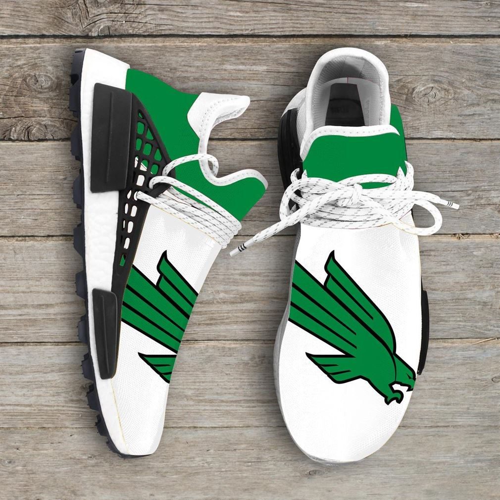 North Texas Mean Green Ncaa Nmd Human Race Sneakers Sport Shoes Running Shoes