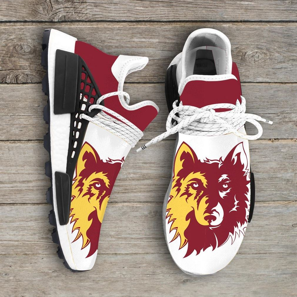 Northern State University Wolves Ncaa Nmd Human Race Sneakers Sport Shoes Running Shoes