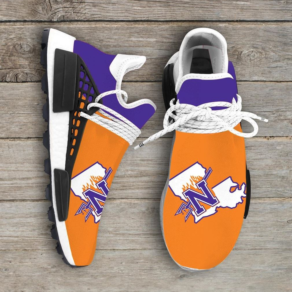 Northwestern State Demons Ncaa Nmd Human Race Sneakers Sport Shoes Running Shoes