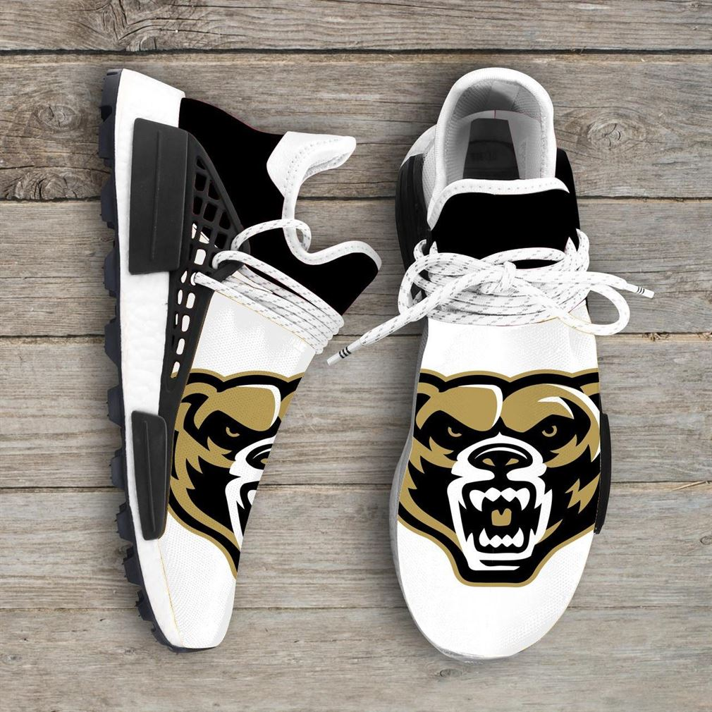 Oakland Golden Grizzlies Ncaa Nmd Human Race Sneakers Sport Shoes Running Shoes