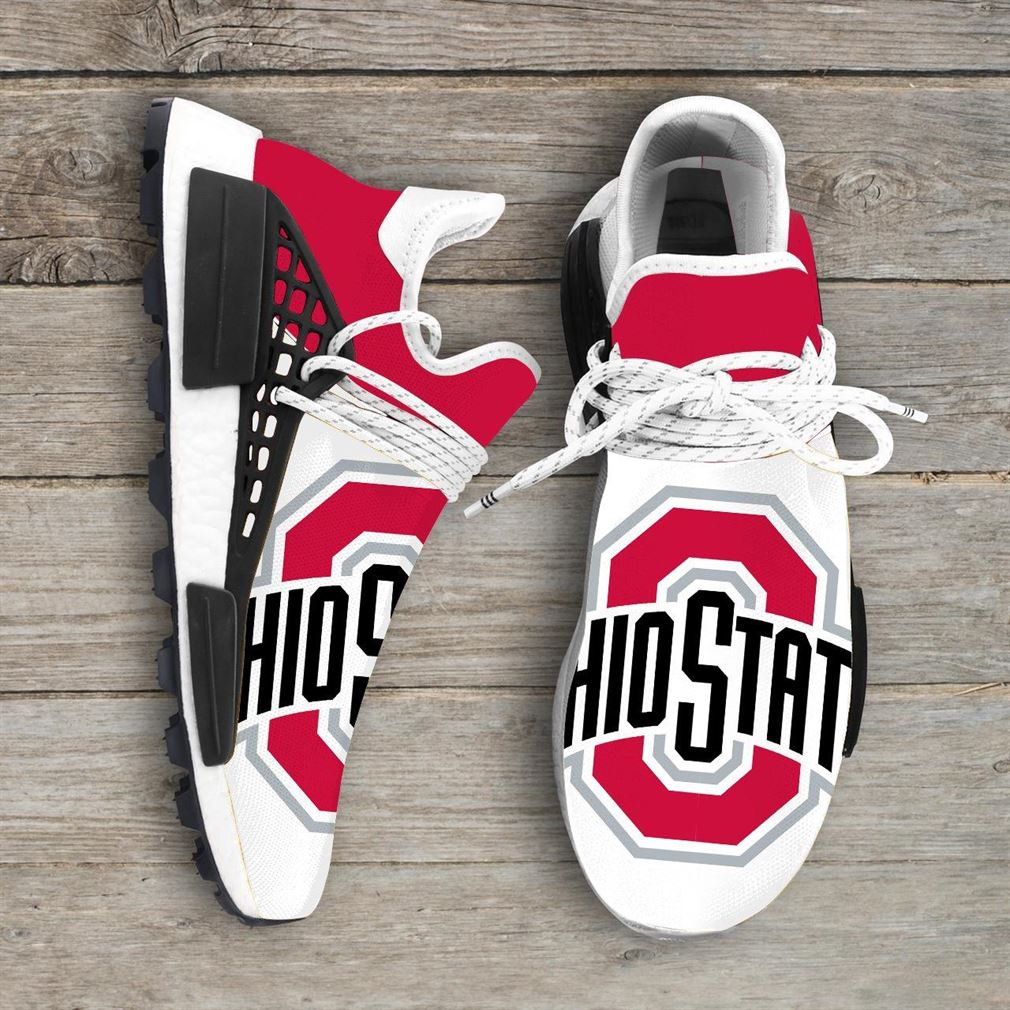 Ohio State Buckeyes Ncaa Nmd Human Race Sneakers Sport Shoes Running Shoes