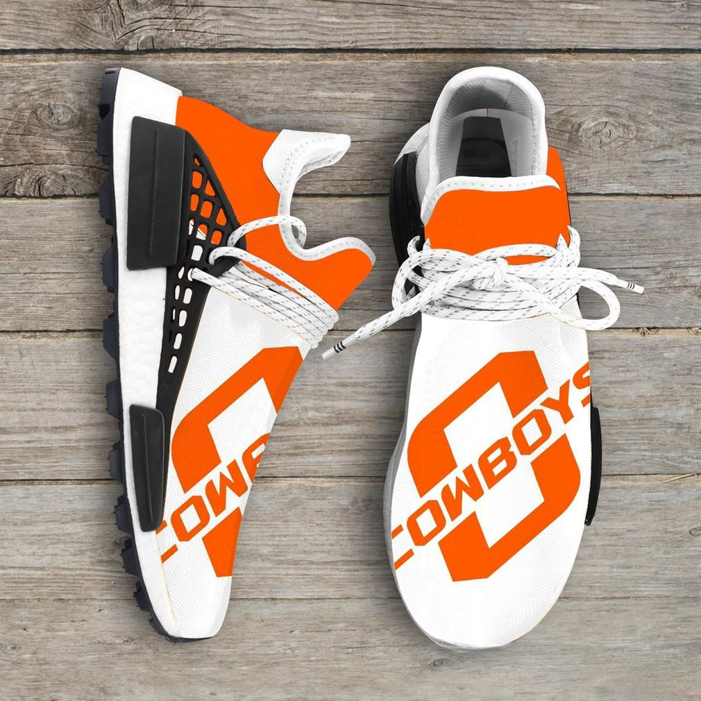 Oklahoma State Cowboys Ncaa Nmd Human Race Sneakers Sport Shoes Running Shoes