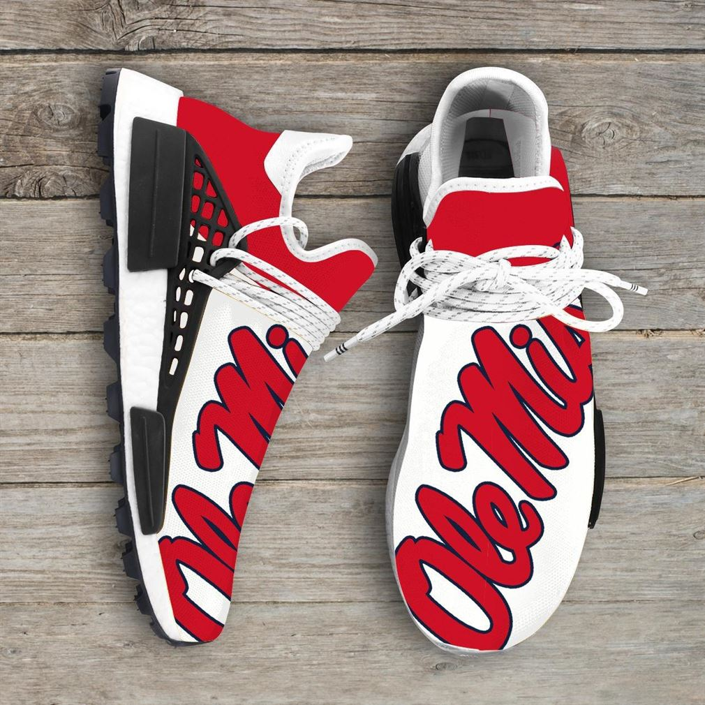 Ole Miss Rebels Ncaa Nmd Human Race Sneakers Sport Shoes Running Shoes Vip