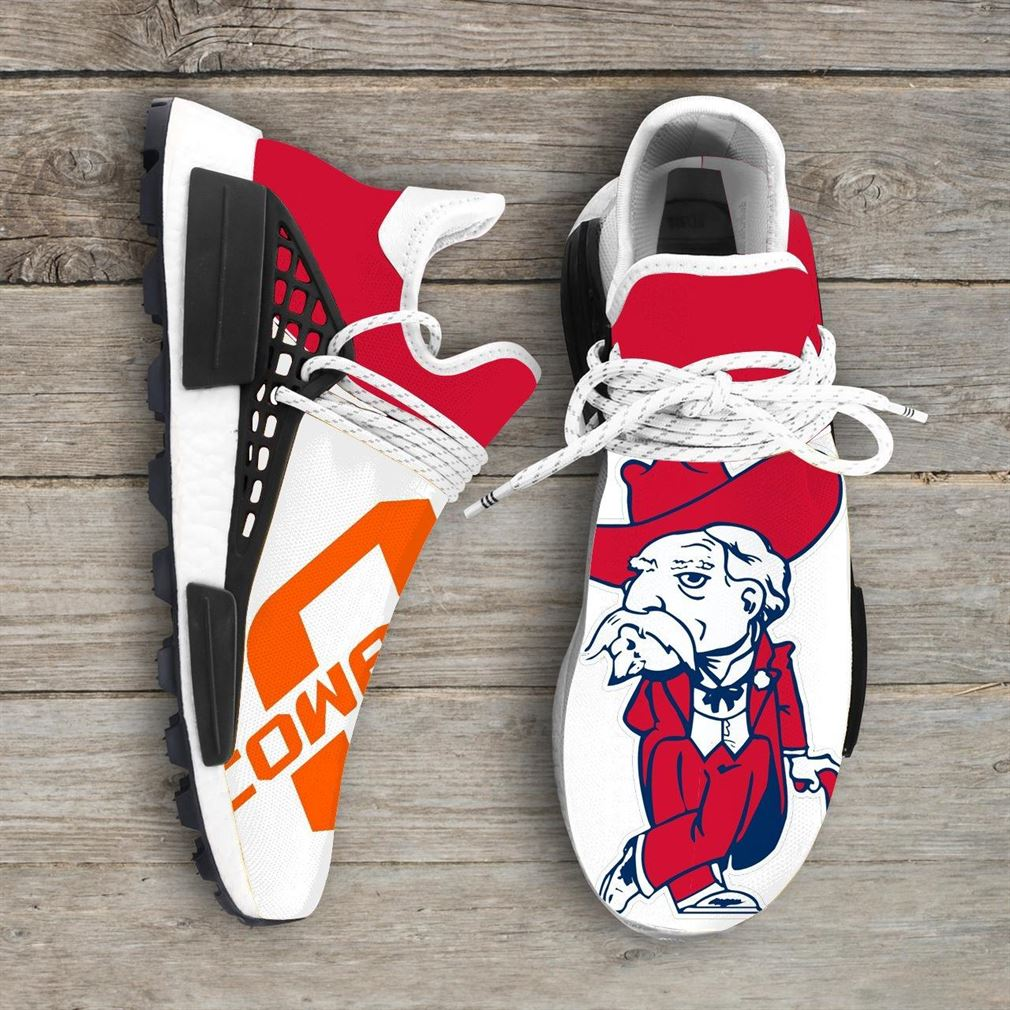 Ole Miss Rebels Ncaa Nmd Human Race Sneakers Sport Shoes Running Shoes