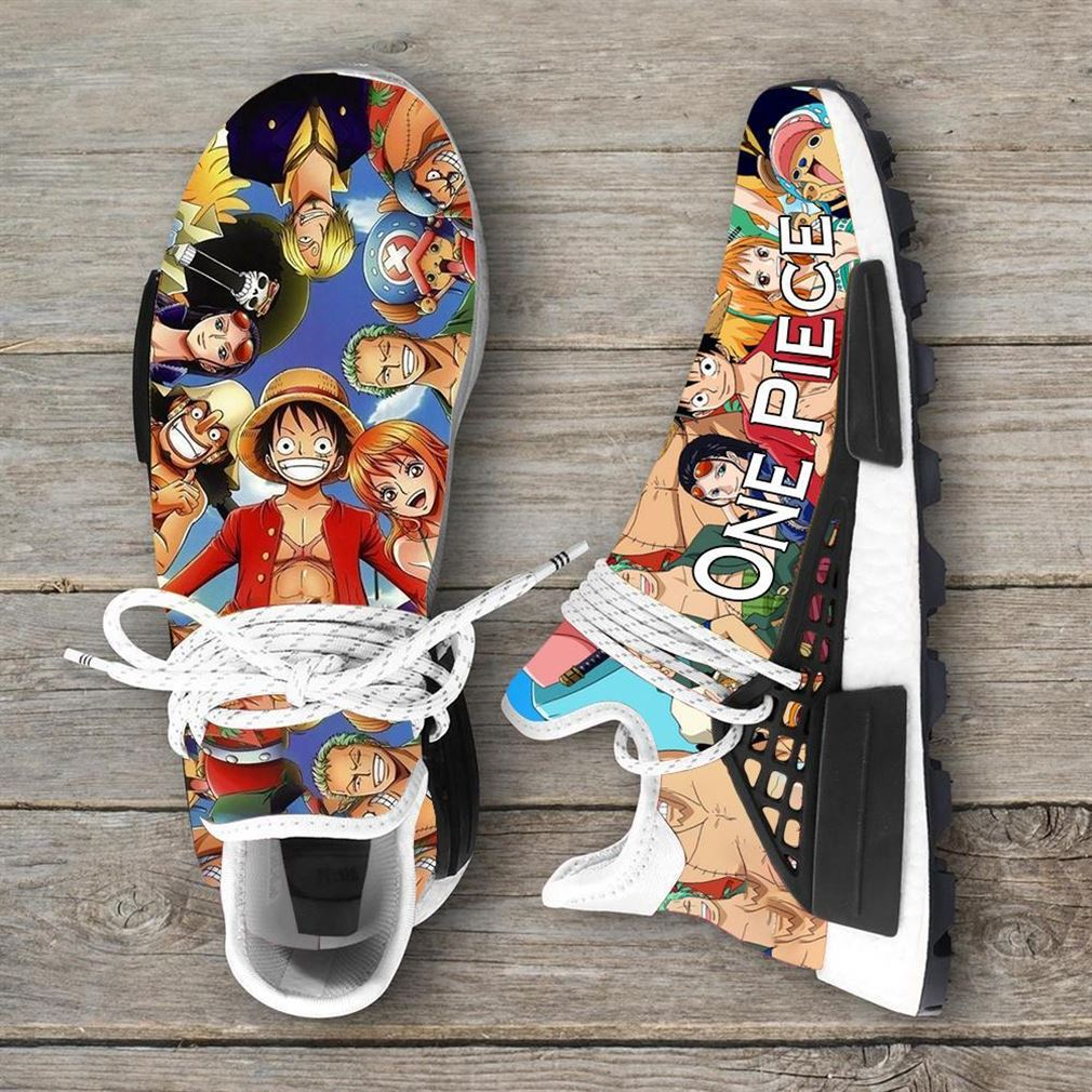 One Piece Manga Anime Series Animation Nmd Human Race Sneakers Shoes Sport Shoes