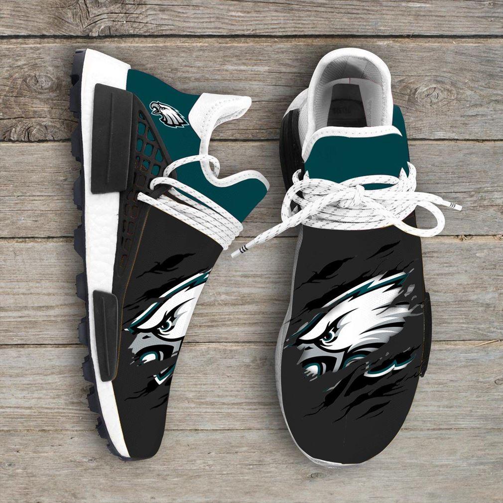 Philadelphia Eagles Nfl Sport Teams Nmd Human Race Sneakers Sport Shoes Running Shoes