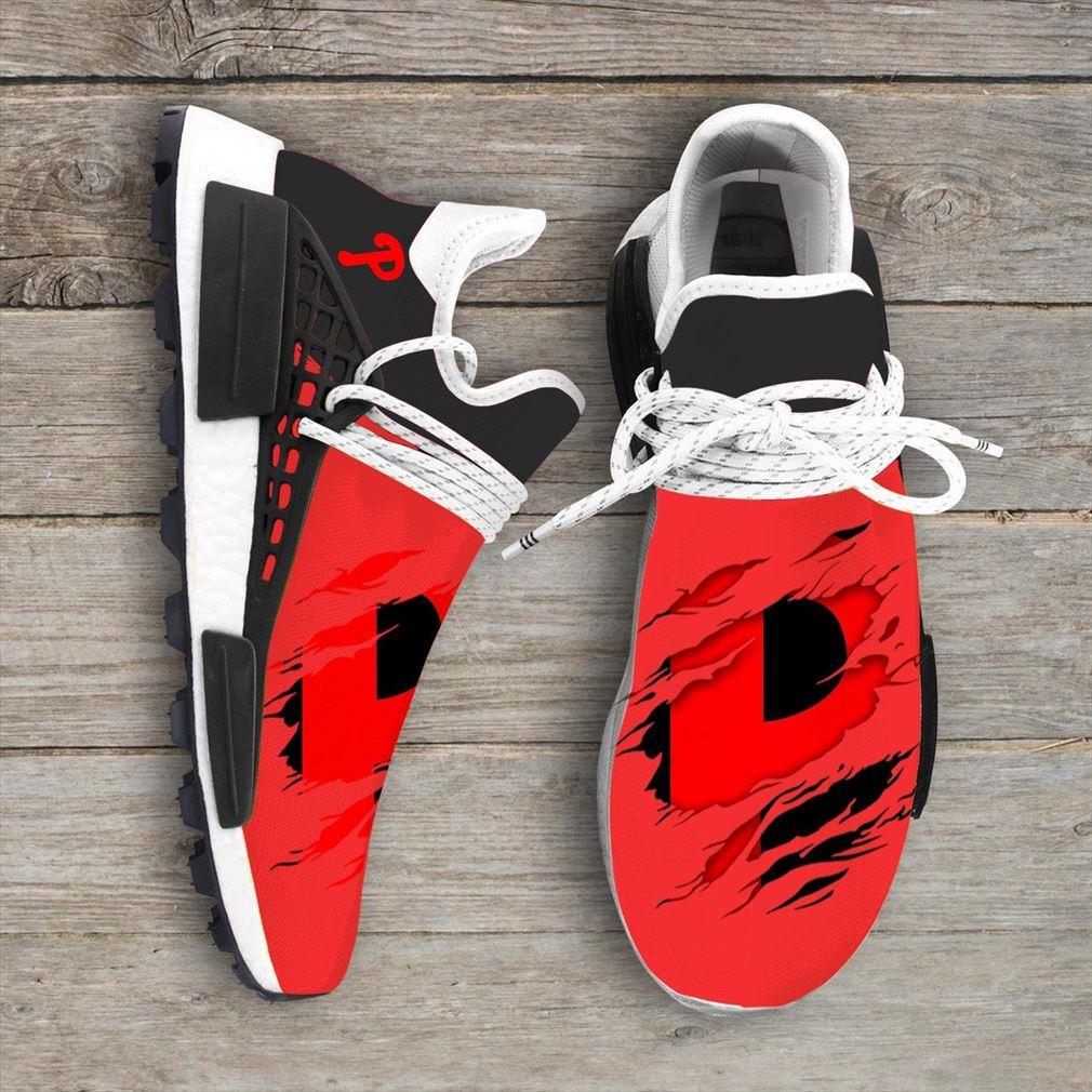 Philadelphia Phillies Mlb Nmd Human Race Shoes Sport Shoes