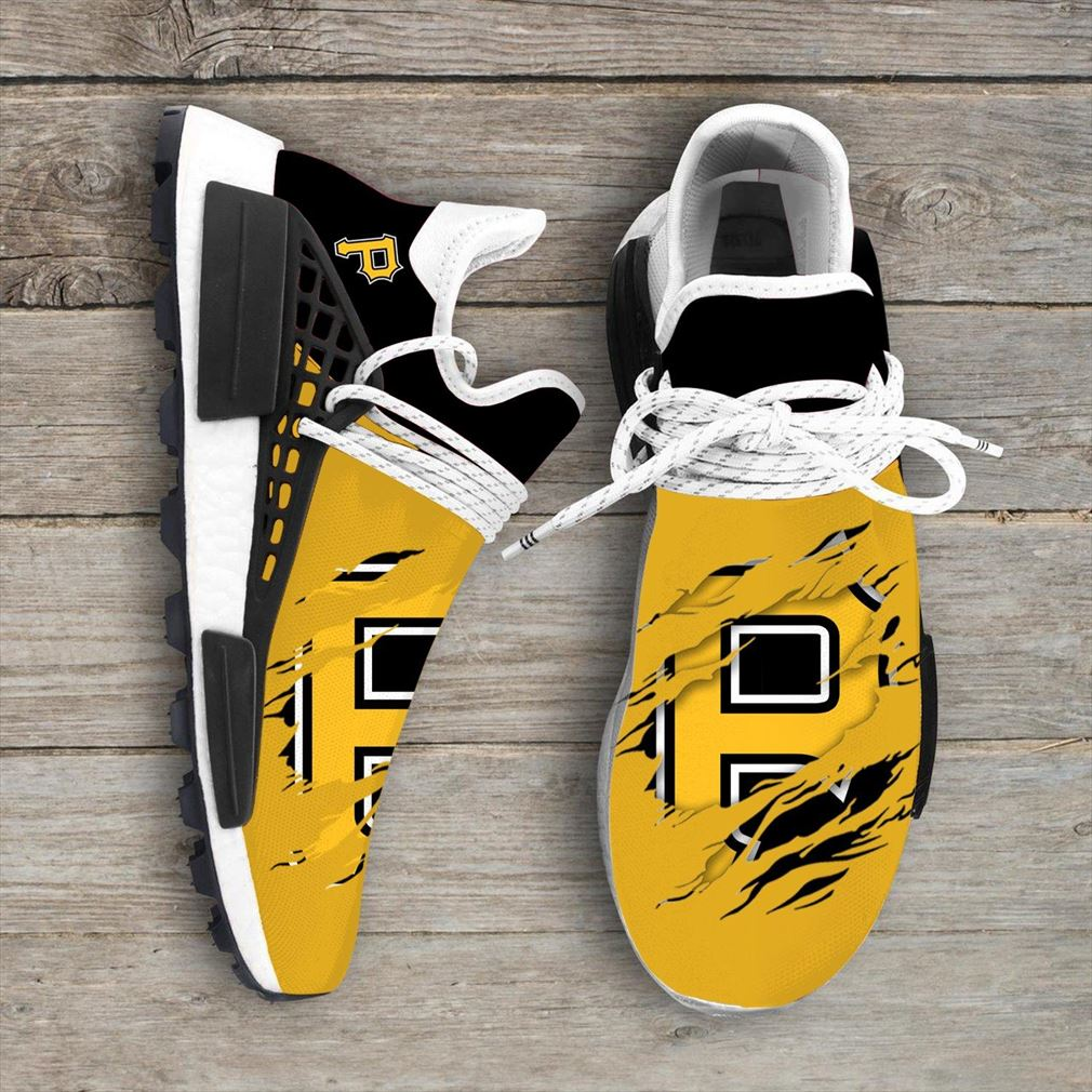 Pittsburgh Pirates Mlb Nmd Human Race Shoes Sport Shoes