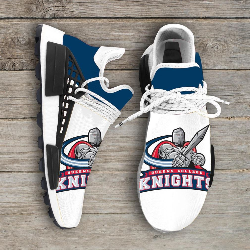 Queens College Knights Ncaa Nmd Human Race Sneakers Sport Shoes Running Shoes