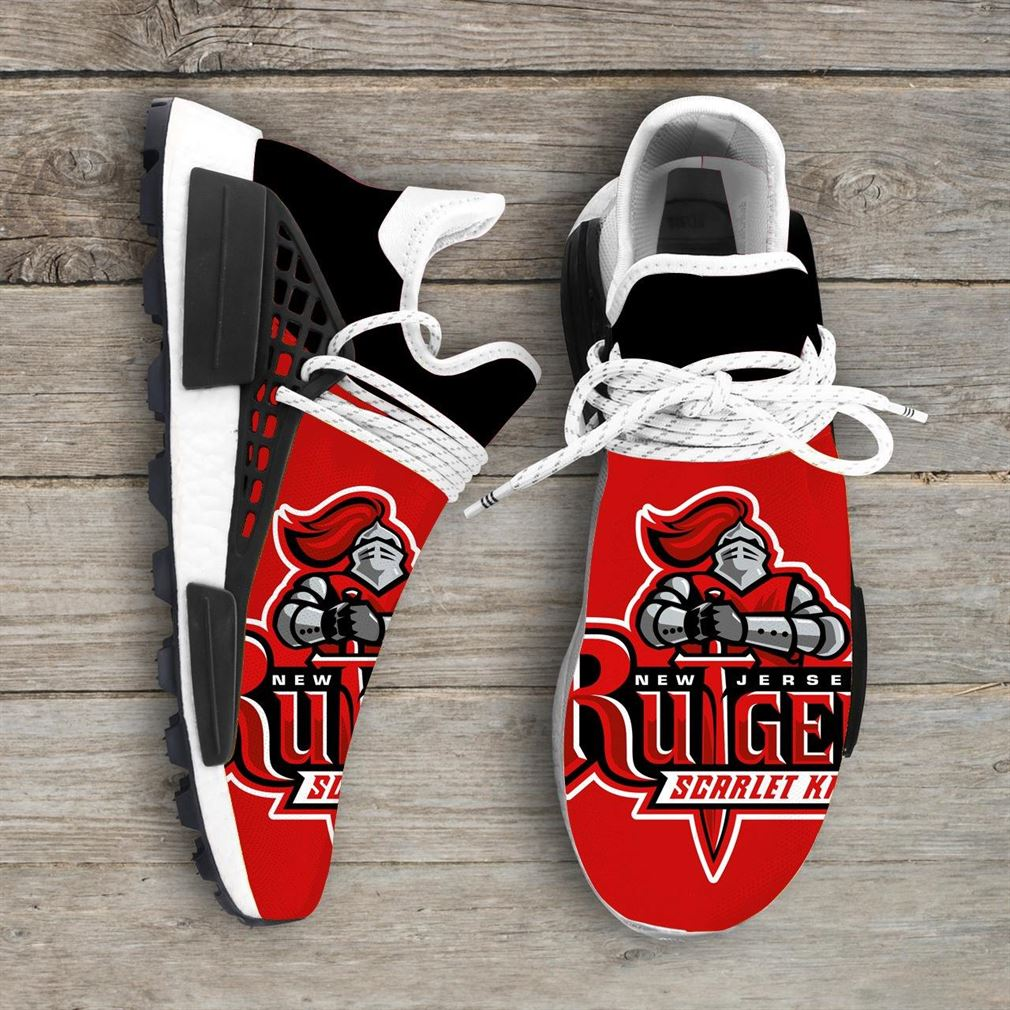 Rutgers Scarlet Knights Ncaa Nmd Human Race Sneakers Sport Shoes Running Shoes