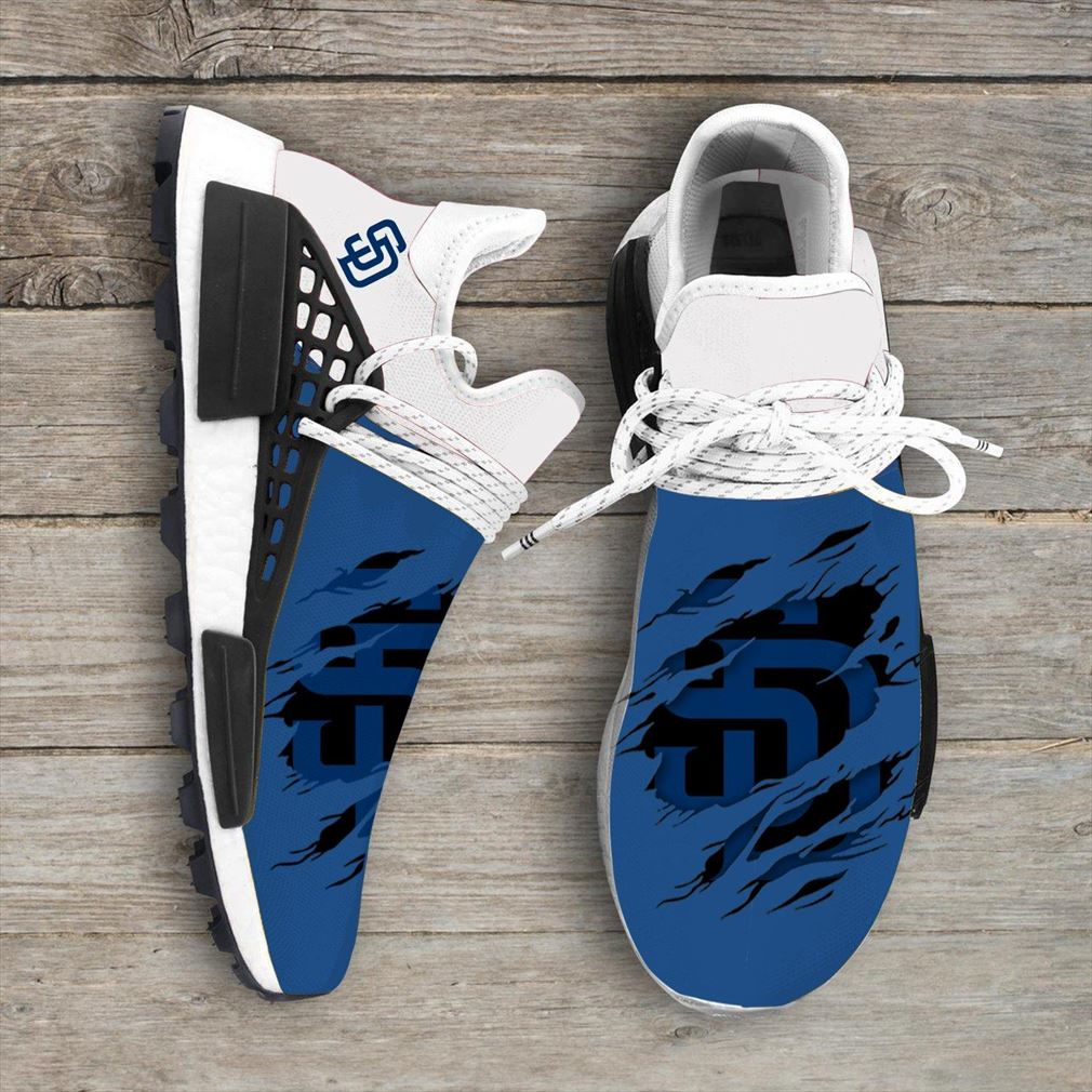 San Diego Padres Mlb Nmd Human Race Shoes Sport Shoes