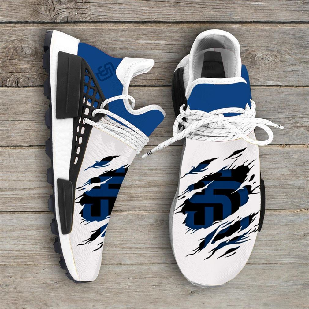 San Diego Padres Mlb Sport Teams Nmd Human Race Sneakers Sport Shoes Running Shoes