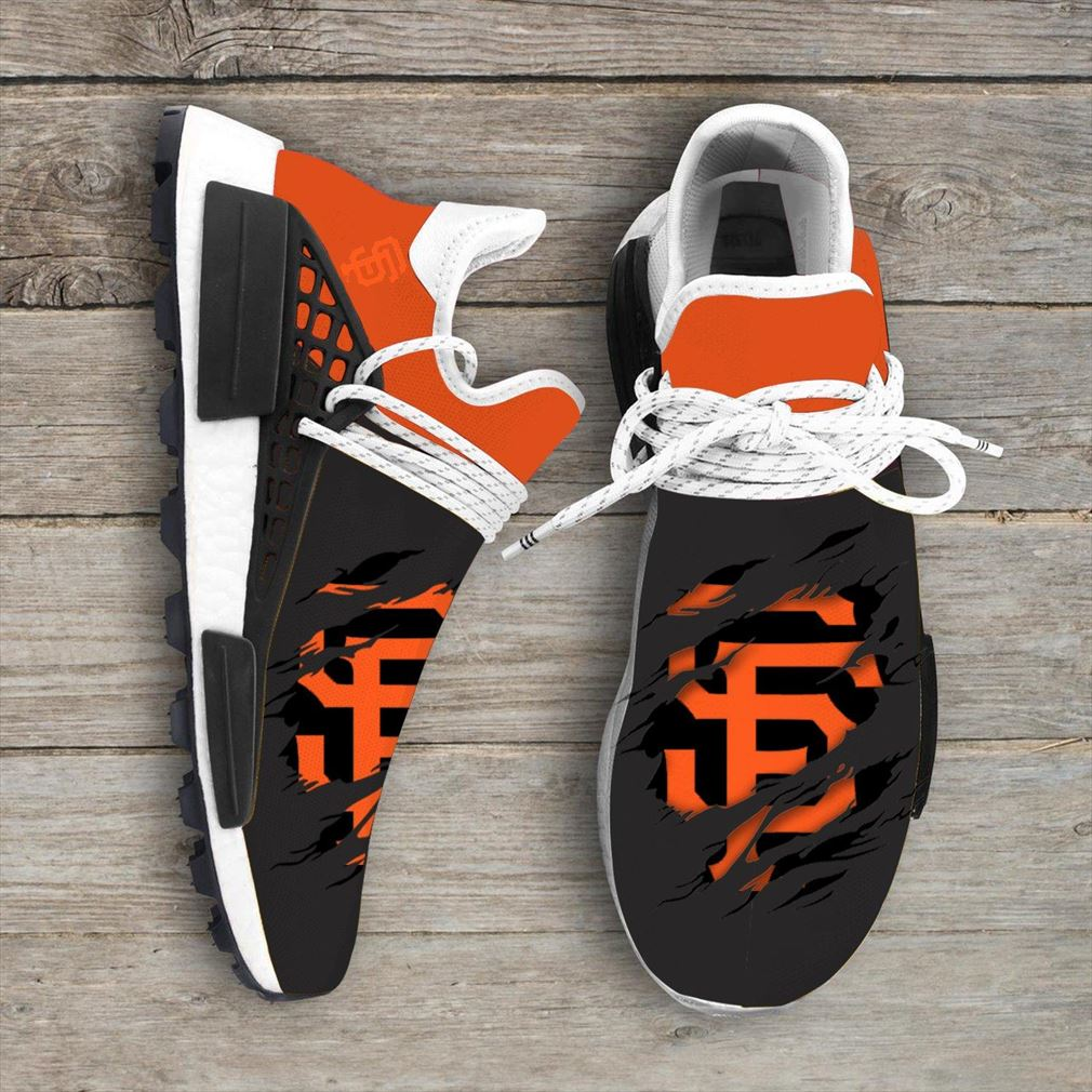 San Francisco Giants Mlb Sport Teams Nmd Human Race Sneakers Sport Shoes