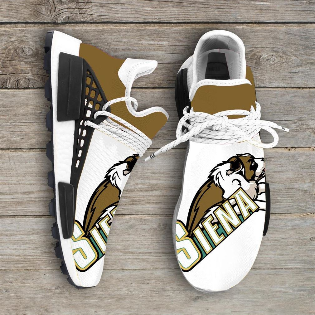 Siena Saints Ncaa Nmd Human Race Sneakers Sport Shoes Running Shoes