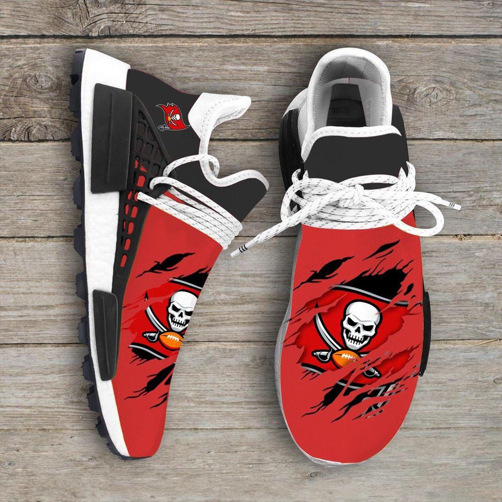 Tampa Bay Buccaneers Nfl Sport Teams Nmd Human Race Sneakers Sport Shoes Running Shoes Vip