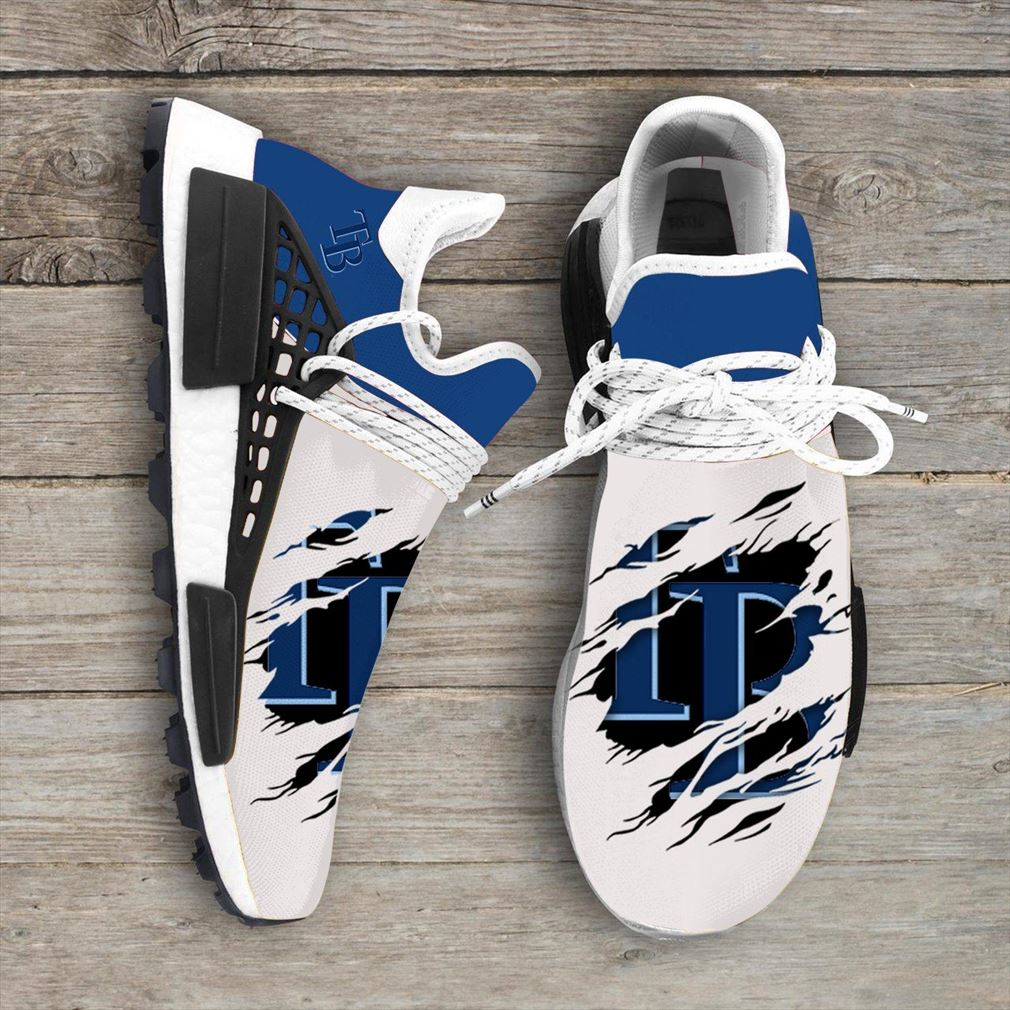 Tampa Bay Rays Mlb Sport Teams Nmd Human Race Sneakers Sport Shoes Running Shoes